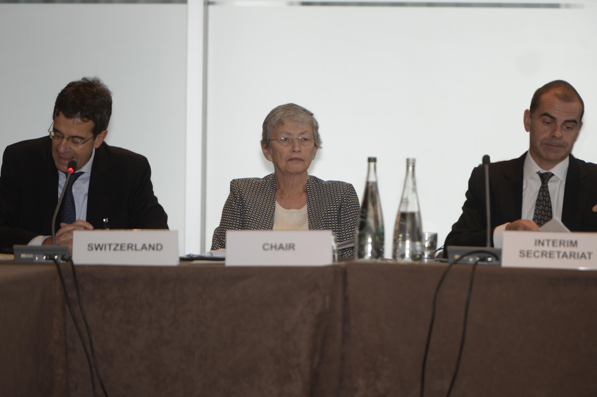 1st Board Meeting, 17-18 November 2014, Geneva Switzerland