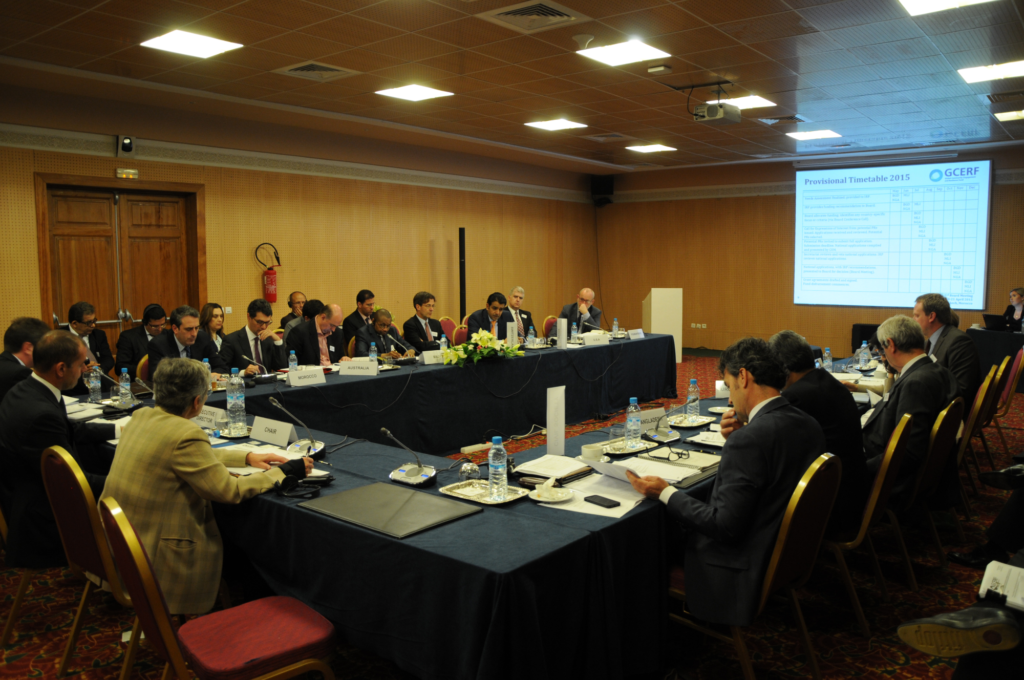 2nd Board Meeting, 20-21 April 2015, Marrakech, Morocco