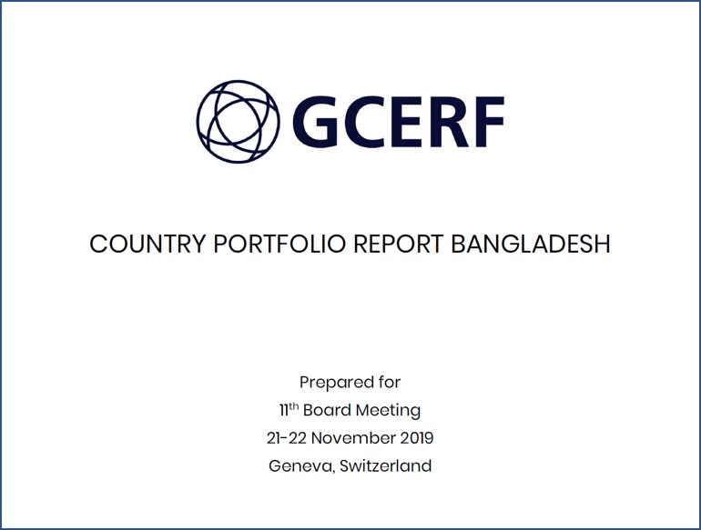 Country Portfolio Report Bangladesh