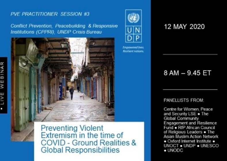 Preventing Violent Extremism in the time of COVID