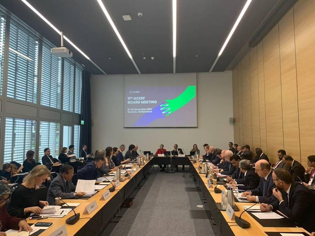 12th Meeting of the GCERF Governing Board