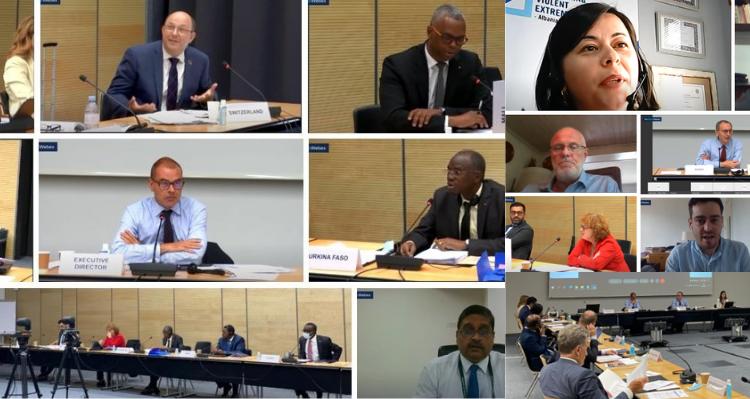14th Board Meeting, 22 June 2021, Hybrid